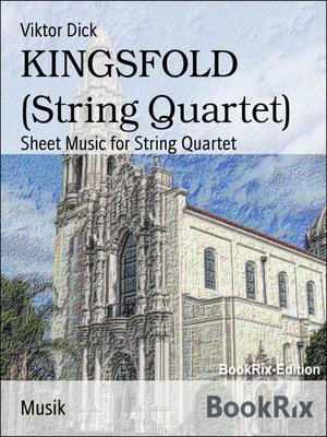cover image of KINGSFOLD (String Quartet)