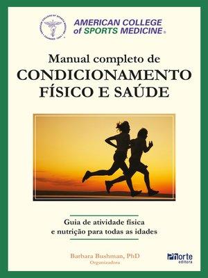 cover image of Manual completo de condicionamento físico e saúde do ACSM