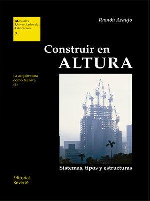 cover image of Construir en altura