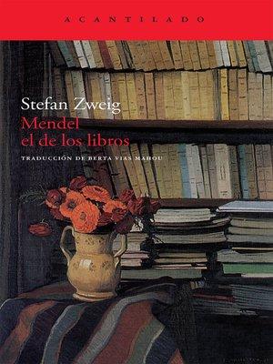 cover image of Mendel el de los libros