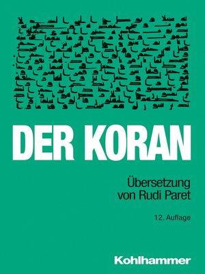 cover image of Der Koran