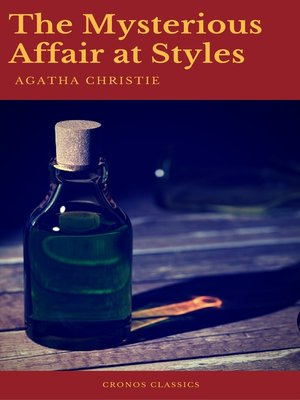 cover image of The Mysterious Affair at Styles (Best Navigation, Active TOC)(Cronos Classics)