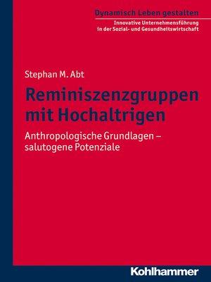 cover image of Reminiszenzgruppen mit Hochaltrigen