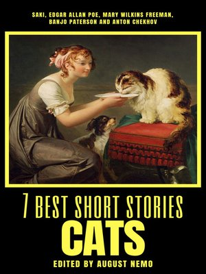 cover image of 7 best short stories--Cats