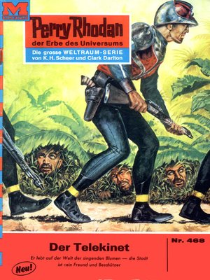 cover image of Perry Rhodan 468