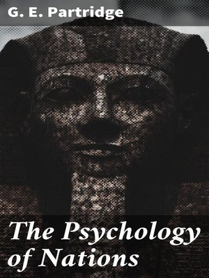 cover image of The Psychology of Nations