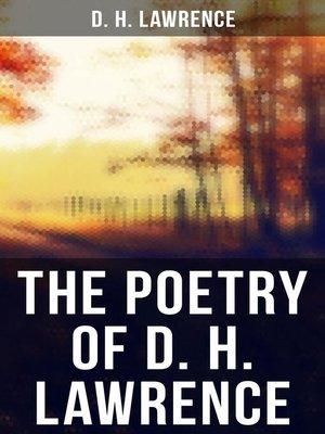 cover image of The Poetry of D. H. Lawrence