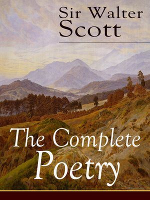 cover image of The Complete Poetry of Sir Walter Scott