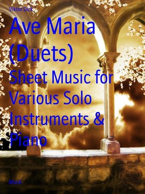 cover image of Ave Maria (Duets)