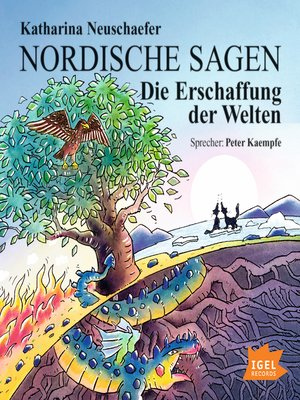 cover image of Nordische Sagen. Die Erschaffung der Welten