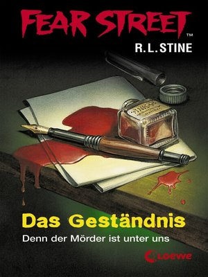 cover image of Fear Street 34--Das Geständnis