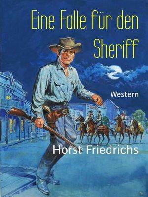 cover image of Eine Falle für den Sheriff