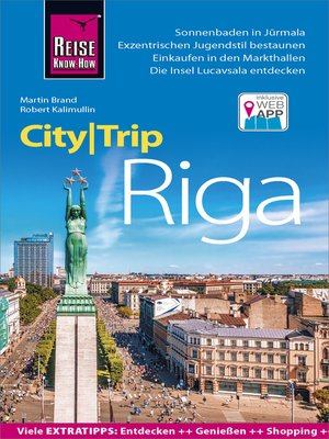cover image of Reise Know-How CityTrip Riga