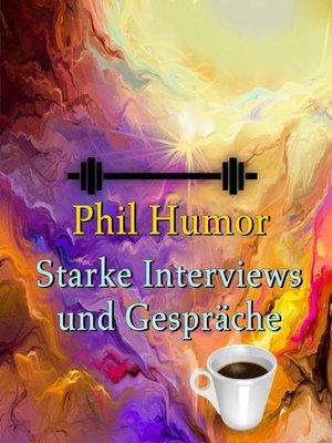 cover image of Starke Interviews und Gespräche