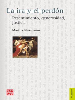 cover image of La ira y el perdón