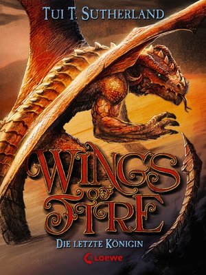 cover image of Wings of Fire 5--Die letzte Königin
