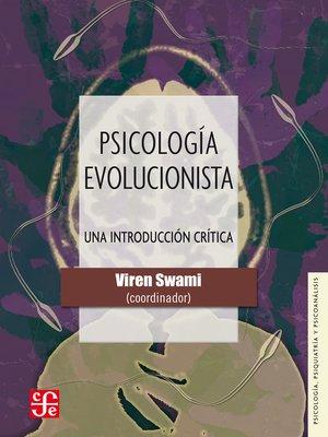 cover image of Psicología evolucionista
