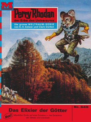 cover image of Perry Rhodan 549