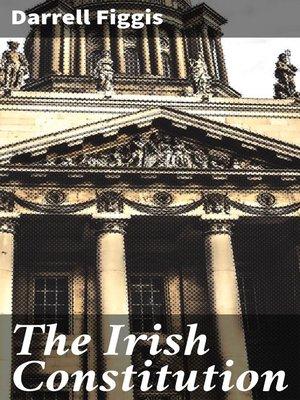 cover image of The Irish Constitution