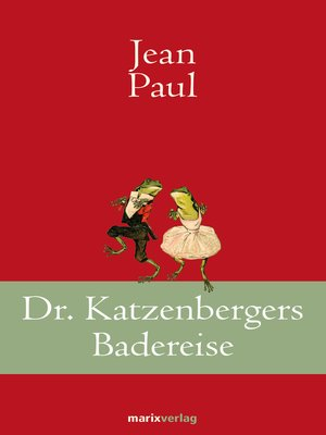 cover image of Dr. Katzenbergers Badereise