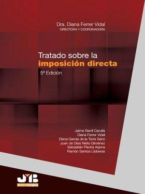 cover image of Tratado sobre la imposición directa