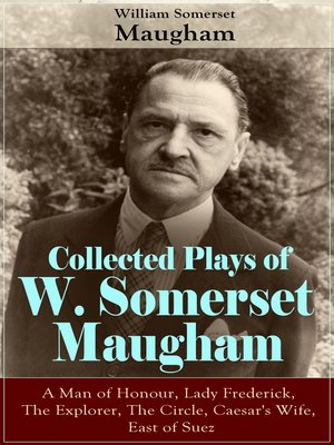 cover image of Collected Plays of W. Somerset Maugham