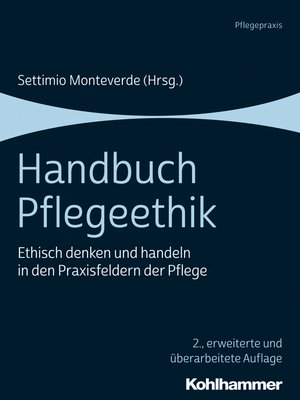 cover image of Handbuch Pflegeethik