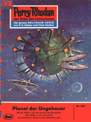 cover image of Perry Rhodan 378