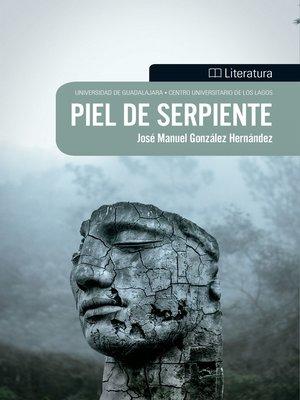 cover image of Piel de serpiente