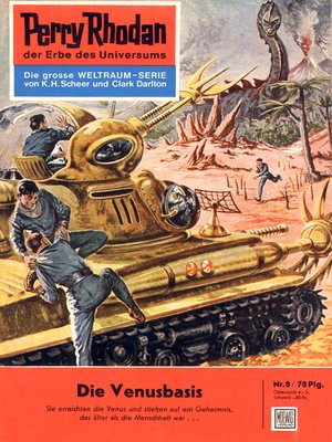 cover image of Perry Rhodan 8