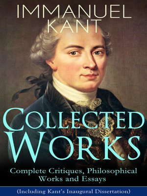 cover image of Collected Works of Immanuel Kant