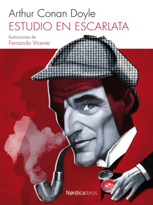 cover image of Estudio en escarlata
