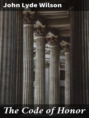 cover image of The Code of Honor