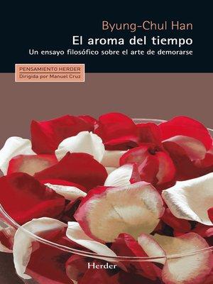 cover image of El aroma del tiempo