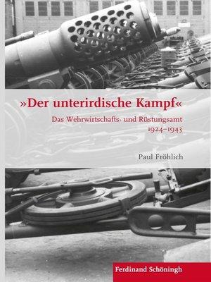"""cover image of """"Der unterirdische Kampf"""""""