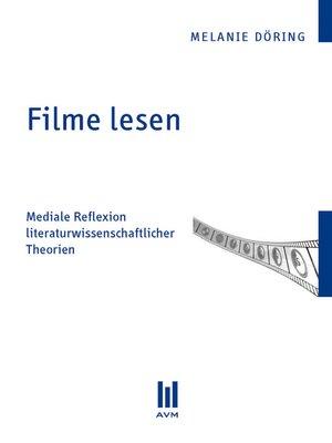 cover image of Filme lesen