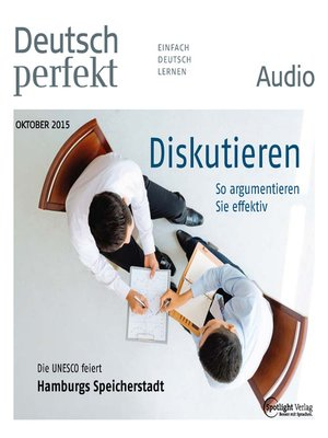 cover image of Deutsch lernen Audio--Diskutieren
