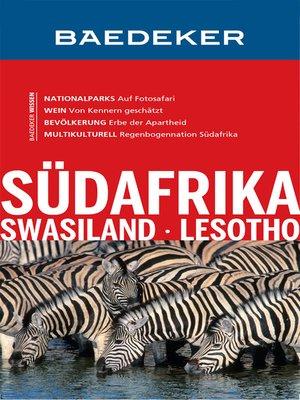 cover image of Baedeker Reiseführer Südafrika, Swasiland, Lesotho
