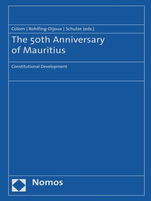 cover image of The 50th Anniversary of Mauritius