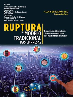 cover image of Ruptura no modelo tradicional das empresas