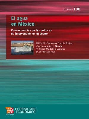 cover image of El agua en México