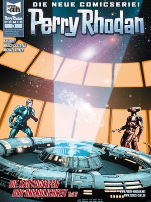 cover image of Perry Rhodan Comic 3