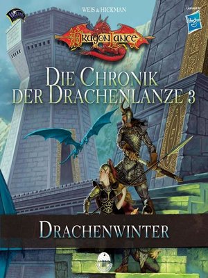 cover image of Die Chronik der Drachenlanze 3--Drachenwinter