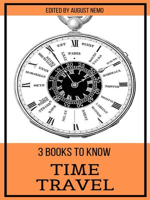 cover image of 3 books to know Time Travel