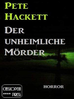cover image of Der unheimliche Mörder