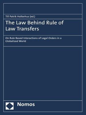 cover image of The Law Behind Rule of Law Transfers