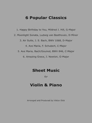 cover image of Popular Classics (Violin & Piano)