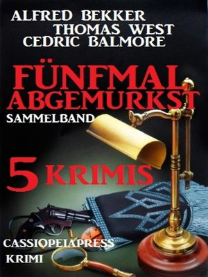 cover image of Krimi Sammelband