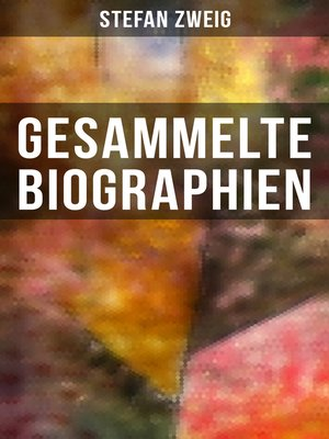 cover image of Gesammelte Biographien