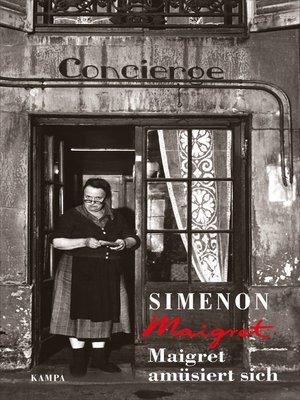 cover image of Maigret amüsiert sich